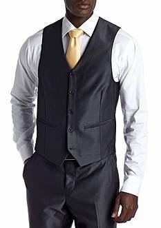 Savile Row Gray Suit Separate Vest