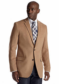 Savile Row Classic Fit Camel Hair Sport Coat
