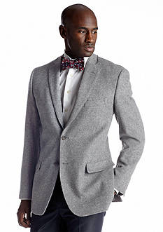 Savile Row Classic Fit Medium Gray Camel Hair Sport Coat