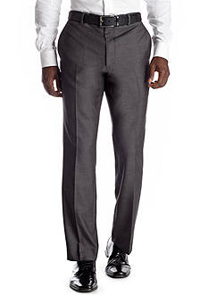 Savile Row Classic Fit Gray Sharkskin Suit Separate Pants