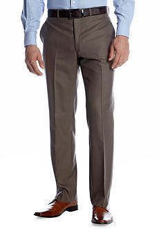 Savile Row Classic Fit Brown Sharkskin Suit Separate Pants