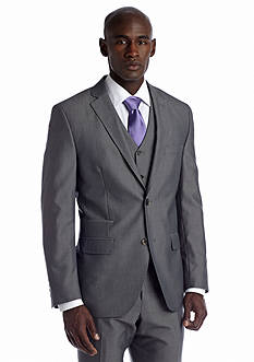 Savile Row Slim Gray Suit Separate Coat