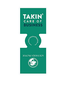 Southern Proper Taking Care Of Business Coozie
