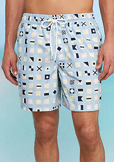 Southern Proper Flags Swim Trunks