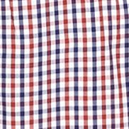 St Patricks Day Outfits For Men: Red Southern Proper Plaid Goaline Shirt