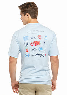 Southern Proper Defender Of The South Graphic Tee