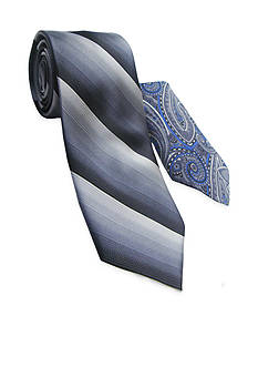 Steve Harvey Extra Long Tonal Solid Tie and Pocket Square Set
