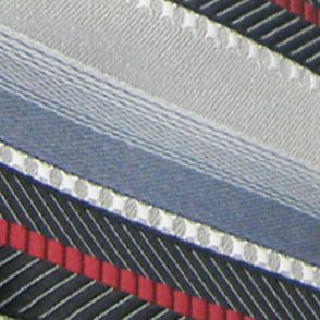 Men: Extra Long Sale: Black Steve Harvey Extra Long Textured Stripe Tie and Pocket Square Set