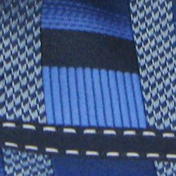 Necktie: Medium Blue Steve Harvey Extra Long Grid Tie and Pocket Square Set