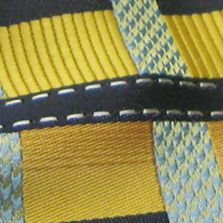 Men: Extra Long Sale: Gold Steve Harvey Extra Long Grid Tie and Pocket Square Set