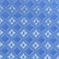 Men: Bow Ties Sale: Blue Steve Harvey Neat Solid Bow Tie & Pocket Square