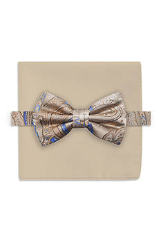 Steve Harvey Paisley Bowtie and Pocket Square