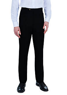 Sansabelt Bing Bengaline Pants with Flat Front and Top Pockets