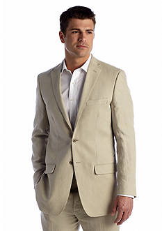 Ocean & Coast Classic Fit Tan Linen Jacket