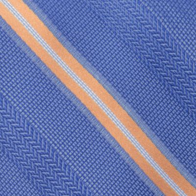 Young Mens Neckties: Navy MICHAEL Michael Kors Chevron Stripe Tie