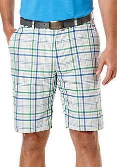 Ben Hogan™ Flat Front Madras Plaid Shorts