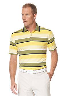Ben Hogan™ End on End Stripe Collar Tipping Polo