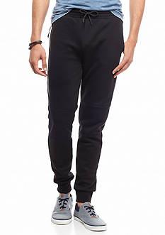 Red Camel Side Zip Tech Jogger Pants