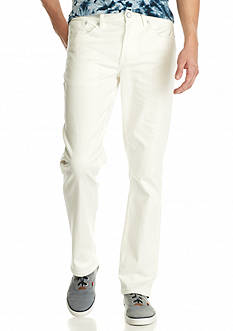 Chip & Pepper CALIFORNIA Off White Relaxed Straight Jeans