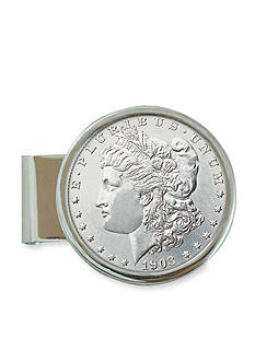 American Coin Treasures Sterling Silver Morgan Dollar Money Clip