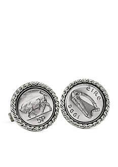 American Coin Treasures Irish Bull 5 Pence Cufflinks