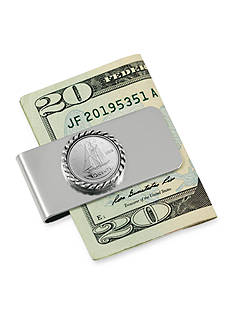 American Coin Treasures Canada Ship Coin Money Clip