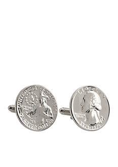 American Coin Treasures Washington Quarter Cufflinks