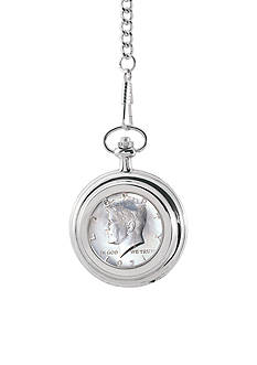 American Coin Treasures JFK Half Dollar Pocket Watch
