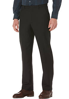 Perry Ellis Flat-Front Solid Suit Pants