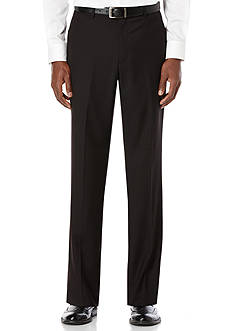 Perry Ellis Big & Tall Solid Suit Pants