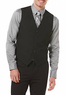 Perry Ellis Solid Suit Vest