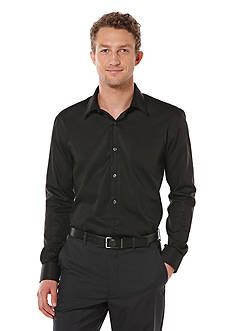 Perry Ellis Button-Down Long Sleeve Non-Iron Shirt