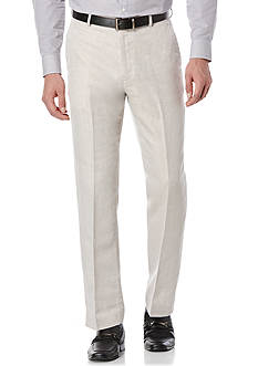 Perry Ellis Big & Tall Linen Suit Pants