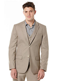 Perry Ellis Solid Texture Suit Jacket
