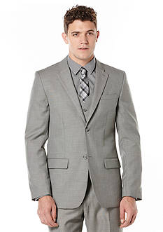 Perry Ellis Big & Tall Solid Texture Suit Jacket