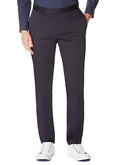 Perry Ellis Slim Fit Solid Tech Pants