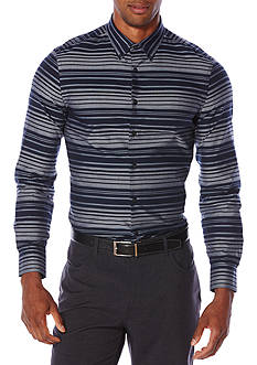 Perry Ellis Slim-Fit Multi Striped Shirt