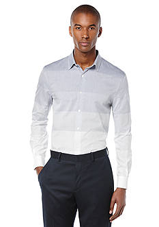 Perry Ellis Engineered Ombre Stripe Shirt