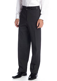 IZOD Classic Fit Black Stripe Pants