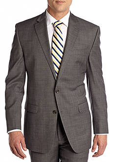 Chaps Classic Fit Sharkskin Suit Separate Jacket
