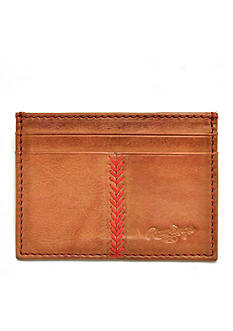 Rawlings Vintage Baseball Stitch Card Case