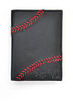 Rawlings Baseball Stitch Front Pocket Wallet