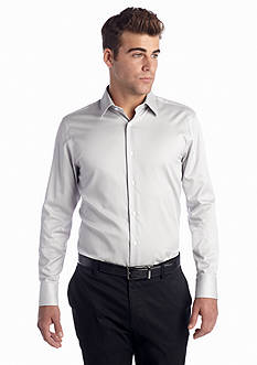 Vince Camuto Solid Sateen Spread Dress Shirt