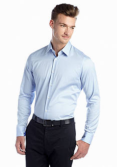 Vince Camuto Sapphire Tattersall Dress Shirt