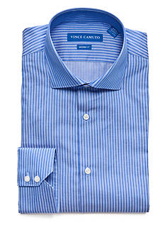 Vince Camuto Men's Modern-Fit Bengal Dress Shirt