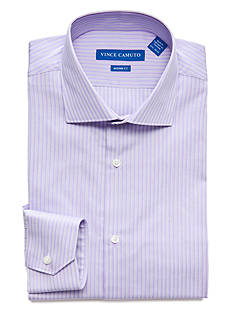 Vince Camuto Men's Modern-Fit Stripe Dress Shirt