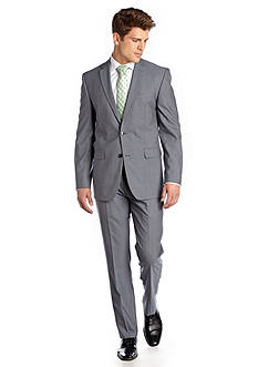 Vince Camuto Modern Fit Plaid Shadow Suit