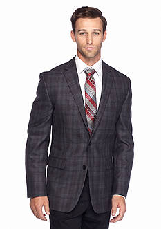Vince Camuto Brown Check Sportcoat