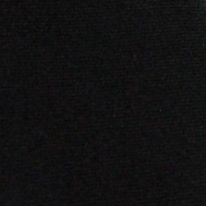 Haggar: Black Haggar Extra Long Solid Polyester Tie & Pindot Pocket Square Set
