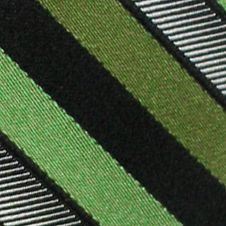 Haggar Men Sale: Green Haggar Woven Stripe Tie